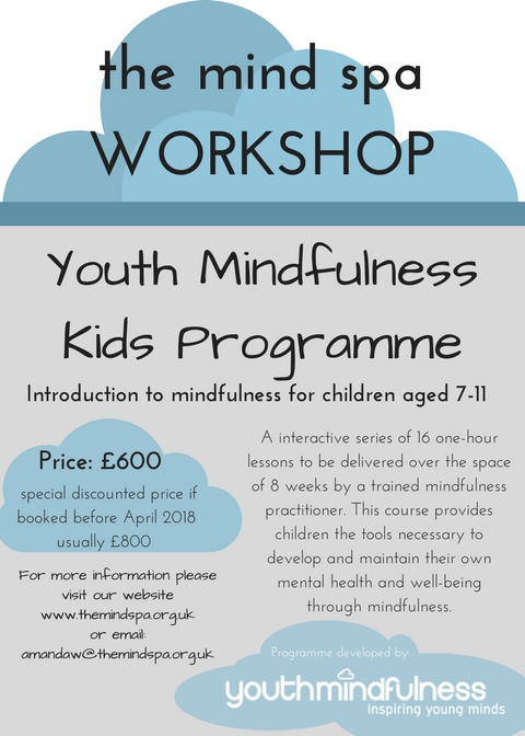 Youth Mindfulness Kids Programme